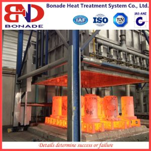 Bell Gas-Fired Furnace for Large Workpiece Quenching pictures & photos
