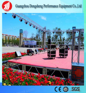 Outdoor Performance Aluminum Stage/Portable Stage/Moving Stage/Wedding Stage/Movable Stages/Stage Equipment/Event Stage/Truss Stage pictures & photos