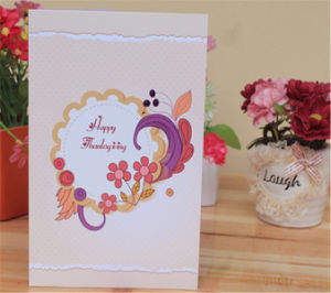 Wholesale Cheap Happy New Year Greeting Card Printing pictures & photos