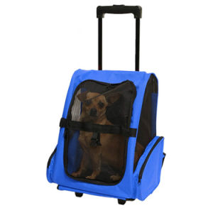 Professional Pull Rod Rolling Portabel Travel Pet Bag pictures & photos