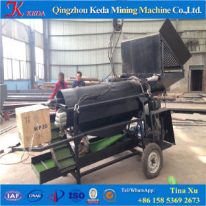 1-10t/H Portable Gold Trommel Screen for Gold Mining pictures & photos