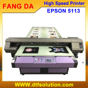 Easy Operation Flatbed Pigment Ink T Shirt Printer pictures & photos