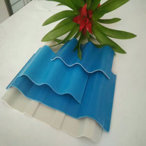 Ten Years Guarantee Corrugated Polycarbonate Sheets/PC Sheet with UV Protection pictures & photos