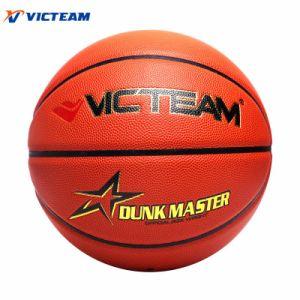 World-Class Micro Fiber Size 7 Match Basketball pictures & photos