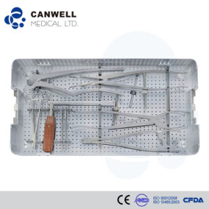Surgical Instrument Set for Spinal Fixation System Hospital Equipment pictures & photos