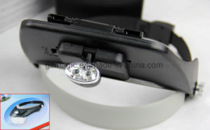 L203 Handheld Mini Headlamp Magnifying Lamp / Magnifier Light for Wholesale pictures & photos