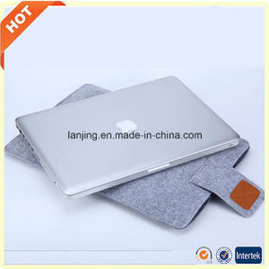 Free Sample Best Quality Felt Laptop Computer Bag for MacBook HP 13 15 17inch pictures & photos