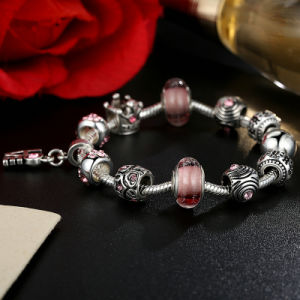 Classic Love Pendant & High Quality Brown Murano Beads Star Charm Bracelets pictures & photos