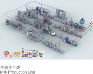 Hot Sale Machine for Making Milk Butter Cheese Prodcution Line pictures & photos