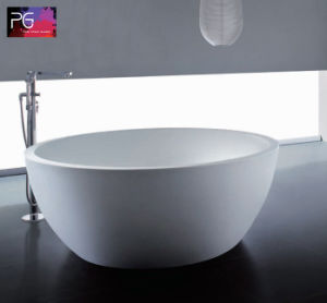 Unique Luxury Big Size 3 Person Round Bathtub pictures & photos