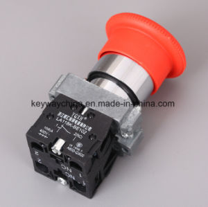 Keyway Brand Mushroom Metal Type Pushbutton Switch pictures & photos