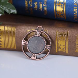 Blank Custom Design Medal with Antique Copper Plating pictures & photos