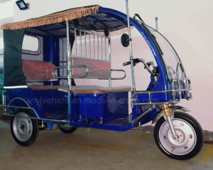 2017electric Tricycle Electric Taxi for Passenger with Cover pictures & photos