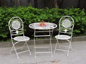 Hand Made Antique Set/3 Patio Table Set pictures & photos