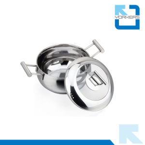 Fashionable New Design Metal Stainless Steel Pot Set pictures & photos