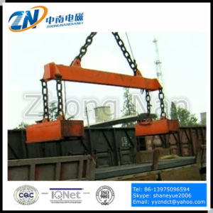 Rectangular Lifting Electromagnet for 500 Degree Steel Billet MW22-11070L/2 pictures & photos