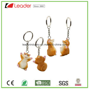 Customized Promotion Black Hamster Key Chain pictures & photos