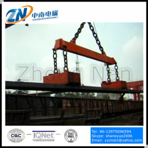 China Electric Lifting Magnet for Handling 600 Degree Steel Billets MW22-21070L/2 pictures & photos