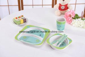 Bamboo Fiber New Design Unbreakable Children Dinner Set/Kid Dinner Set pictures & photos