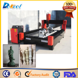 China CNC Marble Stone Cutting Machine with Rotary Device pictures & photos