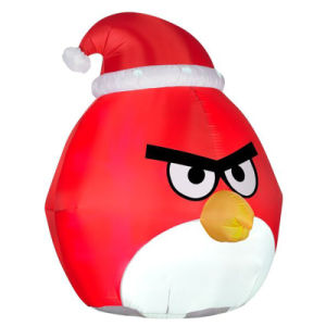 Christmas Cartoon Decoration Inflatable Bird for Yard or Garden pictures & photos