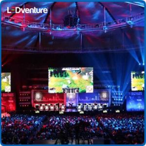 Indoor Full Color LED Video Wall for Rental Events Conference pictures & photos