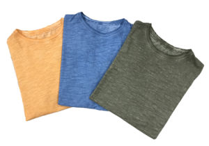 Comfortable and Plain T-Shirt for Men with Dirty Wash pictures & photos