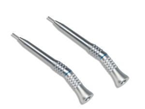 Dental Low Speed Straight Handpiece 20 Degrees for Surgical Operation pictures & photos