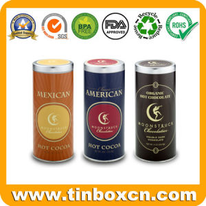 Round Tin Coffee Metal Can with Food Grade, Coffee Tin pictures & photos