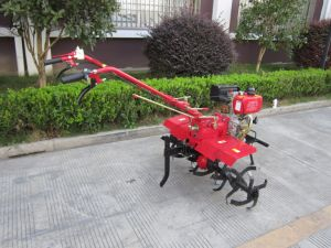 Low Price New Design Orchard Tiller with Inplements for Walking Tractor pictures & photos