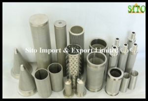 Fine Metal 316 Stainless Steel Wire Mesh Filter pictures & photos