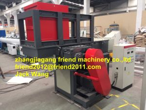 Waste Plastic Wood Rubber Shredder Machine pictures & photos