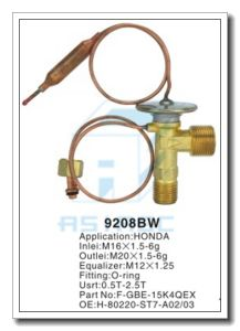 Customized Thermal Brass Expansion Valve for Auto Refrigeration MD9208bw pictures & photos
