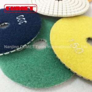 Wet Polishing Pads Hook & Loop Polishing Pad pictures & photos