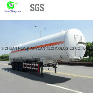 32m3 Capacity Ahf Medium Liquid Storage Tank Semi Trailer pictures & photos