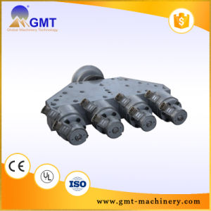 PVC Dual Strand/Outlet Pipe Plastic Machine Line Extruder pictures & photos