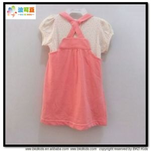 New Design Baby Clothing Bubble Sleeve Baby Girl Dress pictures & photos