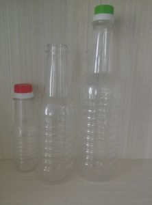 Round Pet Bottle for Soy Sauce Plastic Packaging pictures & photos