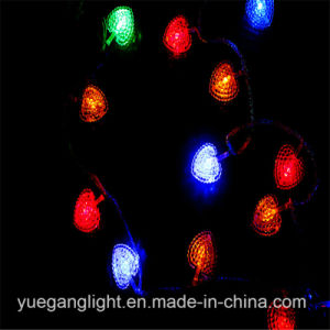 Multicolor Light String with Heart pictures & photos