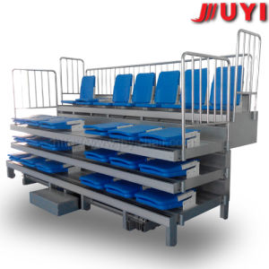 Jy-720 Telescopic Mobile Auditorium Chair Retractable Platform Seating System Bleacher Chairs Stadium Seats pictures & photos