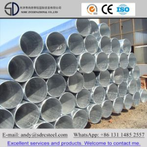 Hot DIP Galvanized Steel Pipe for Structure and Scaffolding pictures & photos