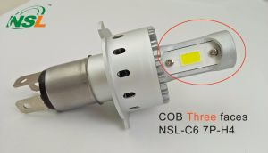 H4 COB Three Sides LED Car Headlight Kit 9004 H13 pictures & photos