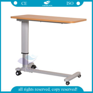 AG-Obt015 High Quality Hospital Over Bed Table pictures & photos