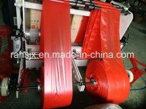Automatic Double Line T-Shirt Bag Cutting Machine (HSRQ-450X2) pictures & photos