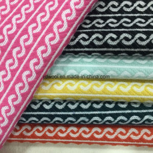 Spiral Styles Jacquard Wool Fabric Ready Greige pictures & photos