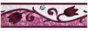 Glazed Ceramic Border Decor (DS-0001)