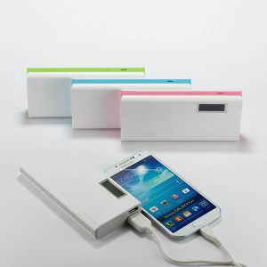 10000mAh LCD Display Mobile Charger Power Bank