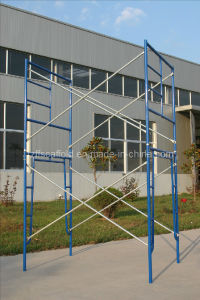 """3′*6′4"""" Scaffold Steel Powder Coated Frame Scaffolding pictures & photos"""