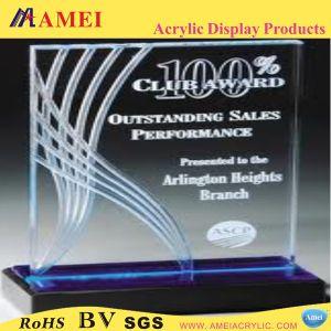 Clear Acrylic Award/Trophy (AAL-08)