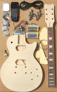 Electric Guitar Kit /Wooden Guitar Kits/ Electric Guitar (LP-302) pictures & photos